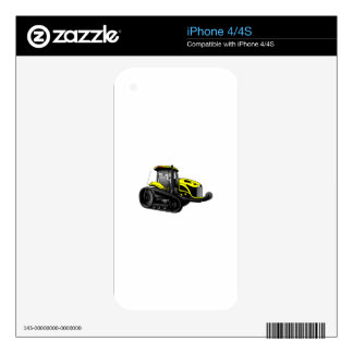 High Track Tractor Decals For iPhone 4