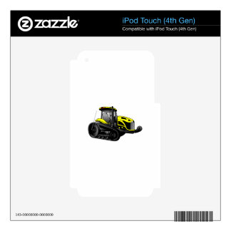 High Track Tractor Skins For iPod Touch 4G