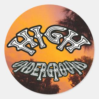 High Underground Sun Valley Sticker