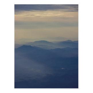 High up postcard