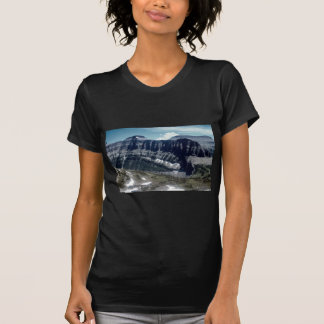 High view of Rocky Mountains, Glacier National Par Shirts