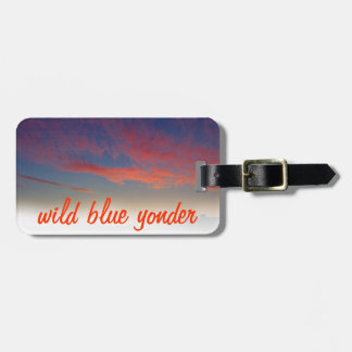 high visibility luggage tag