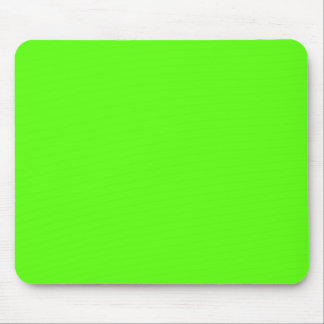 High Visibility Neon Green Mouse Pads