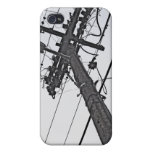 High Voltage - black and white industrial photo iPhone 4/4S Case