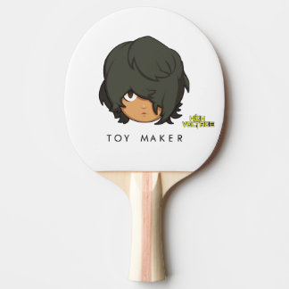 High Voltage: Chibi Toy Maker Ping Pong Paddle