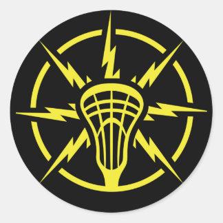 High Voltage Classic Round Sticker