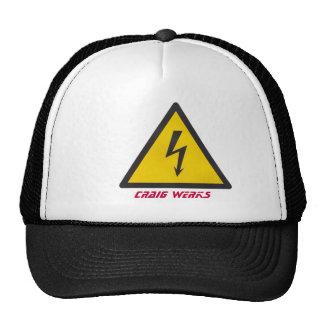 HIGH VOLTAGE CRAIG WERKS TRUCKER HATS