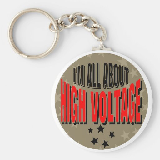 High Voltage Electrician Key Chains