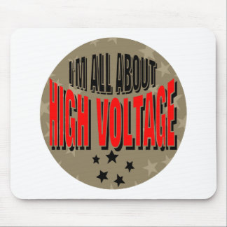 High Voltage Electrician Mouse Pad