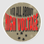 High Voltage Electrician Sticker