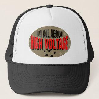 High Voltage Electrician Trucker Hat