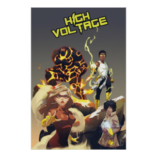 High Voltage Heroes Poster