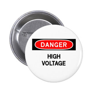 high voltage pinback button