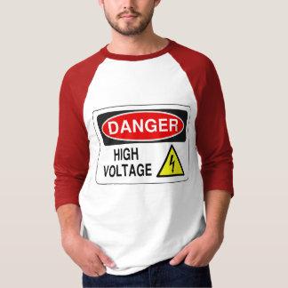 High Voltage-Raglan style 3/4 sleeved shirt