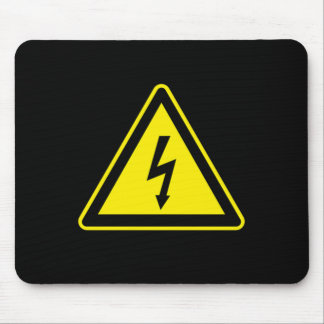 High Voltage Sign Mouse Pad