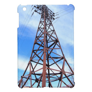 High-voltage tower with wires case for the iPad mini