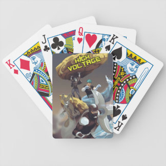 High Voltage Villains Playing Cards
