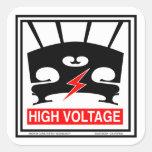 High Voltage Violin Stickers