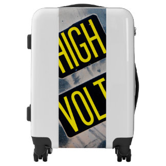 High Voltage Warning Sign - FUNNY Luggage