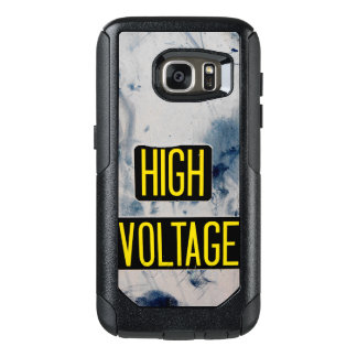 High Voltage Warning Sign OtterBox Samsung Galaxy S7 Case