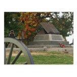 High Water Mark, Gettysburg Battlefield postcard