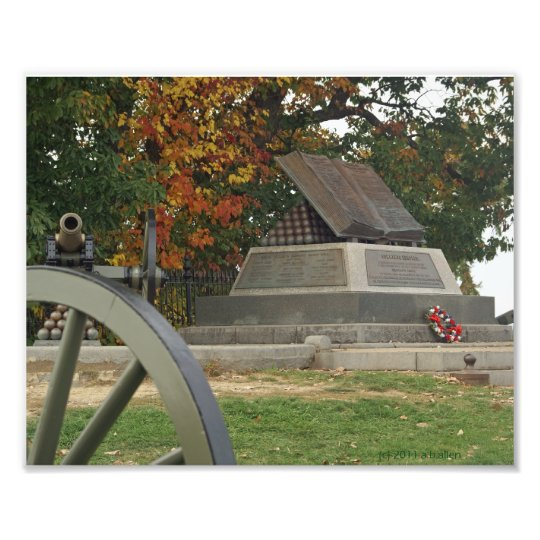 High Water Mark Monument, Gettysburg, PA Photo Print