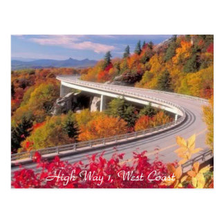 High_way 1, West Coast - Postcard