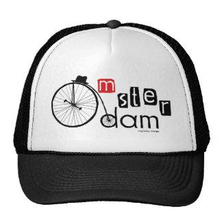 High Wheel Cap Trucker Hat