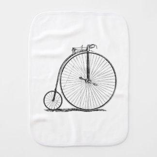 High Wheeler Victorian Penny Farthing Cycle Biking Burp Cloth