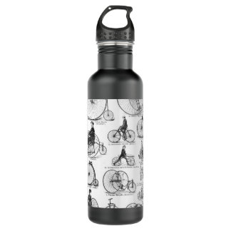 High Wheeler Victorian Penny Farthing Cycle Biking Stainless Steel Water Bottle