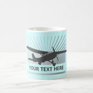 High Wing Aircraft Coffee Mug