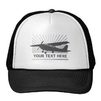 High Wing Aircraft - Custom Text Trucker Hats