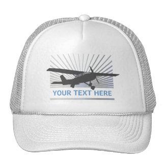 High Wing Aircraft Trucker Hats