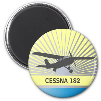 High Wing Aircraft Magnet