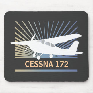 High Wing Aircraft Mouse Pad