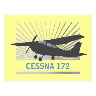 High Wing Aircraft Post Card