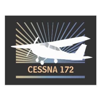 High Wing Aircraft Postcard