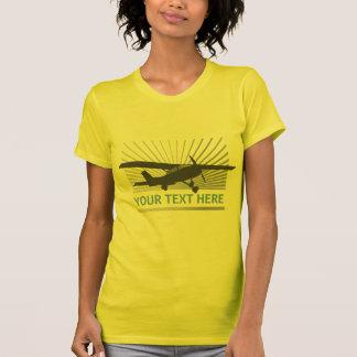 High Wing Aircraft Tshirt
