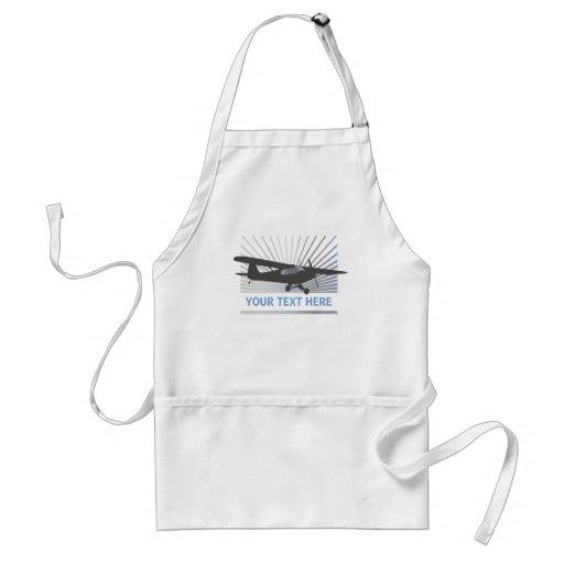 High Wing Taildragger Aircraft Adult Apron