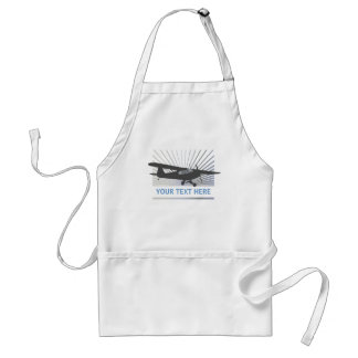 High Wing Taildragger Aircraft Adult Apron