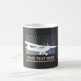 High Wing Taildragger Aircraft Classic White Coffee Mug