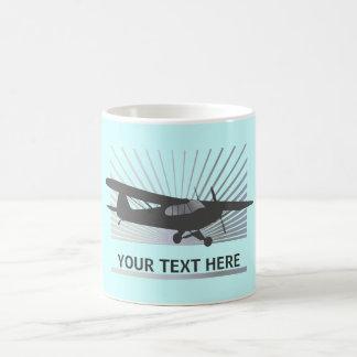 High Wing Taildragger Aircraft Coffee Mug