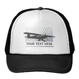 High Wing Taildragger Aircraft Mesh Hats