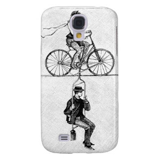 High-wire Bicycle - Vintage Circus Cycling Act Samsung Galaxy S4 Case
