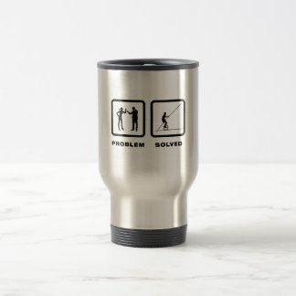 High Wire Unicycling 15 Oz Stainless Steel Travel Mug