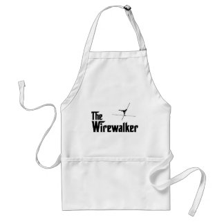 High Wire Walking Adult Apron