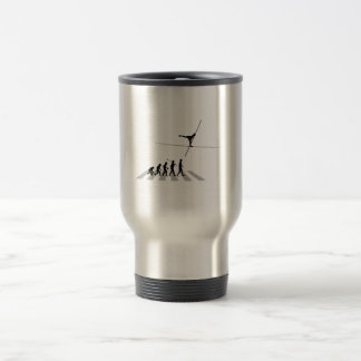 High Wire Walking 15 Oz Stainless Steel Travel Mug