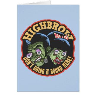 Highbrow Card