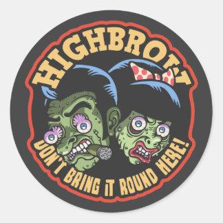 Highbrow Sticker