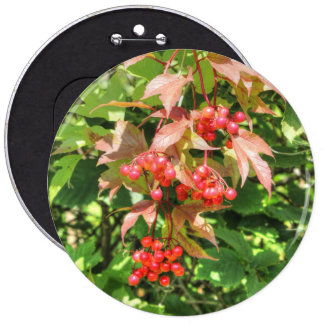 Highbush Cranberries Button